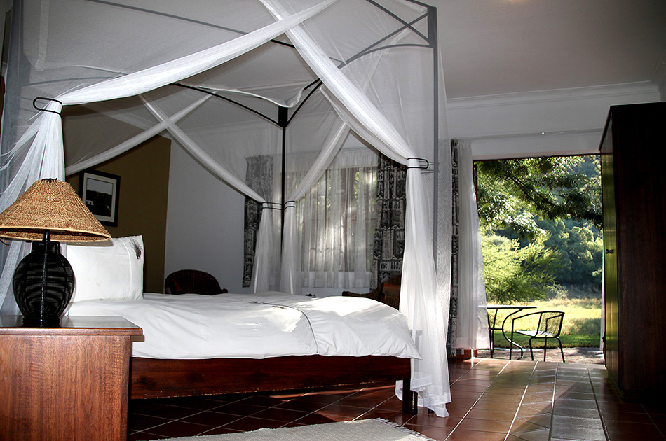 Renovated room at the Waterberg Wilderness Lodge